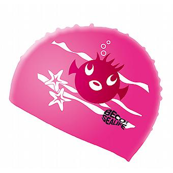 BECO silicona Sealife Junior gorro - rosa