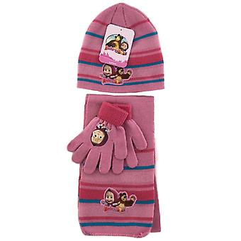 Masha and the bear winter set-more colors