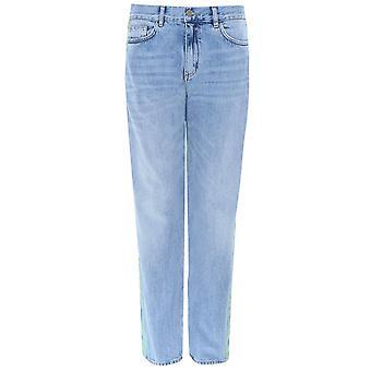 Victoria Victoria Beckham Seite Streifen Straight Jeans