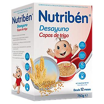 Nutribén Breakfast Flakes Wheat and Fruits 750 gr (Childhood , Food , Cereals)