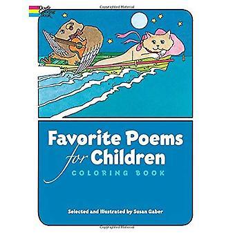 Poèmes préférés pour enfants coloriages