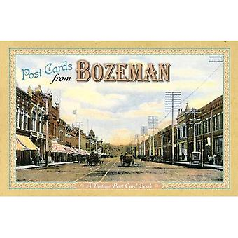 Post Cards from Bozeman: A Vintage Post Card Book