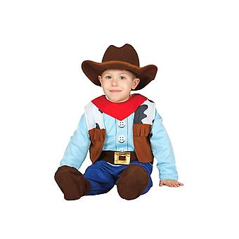 Toddlers Baby Cowboy Fancy Dress Costume