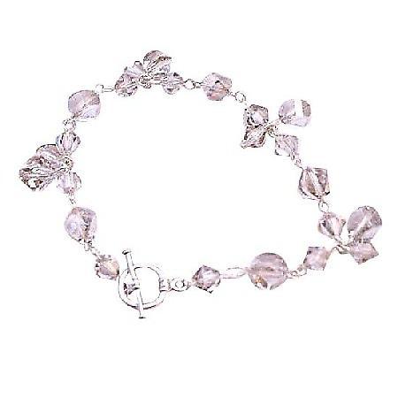 Bracelet Different Shape Size Shape 8mm Helix Swarovski Beads Jewelry