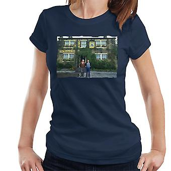 TV Times Amos Brealy And Henry Wilks Outside The Woolpack Emmerdale Women's T-Shirt