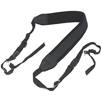 TRIXES Black Camera Neck Strap Quick Release Canon Replacement Accessory