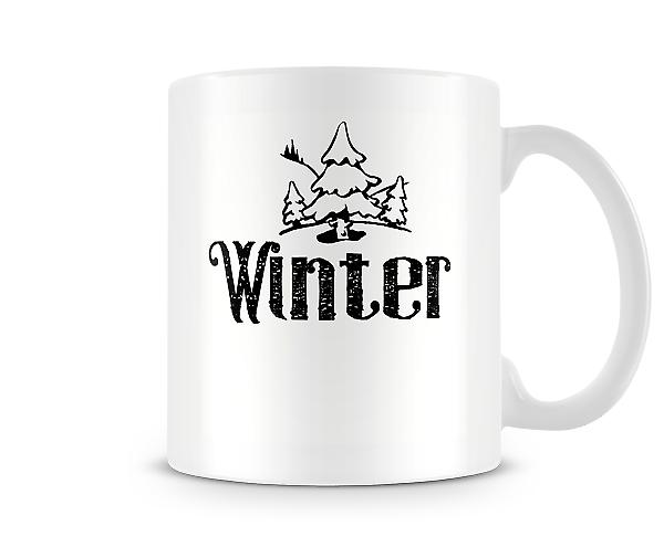 Decorative Winter Season Mug