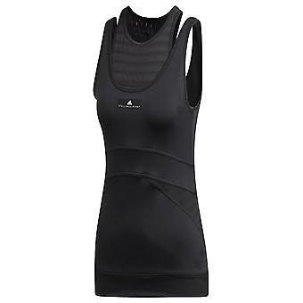 Adidas By Stella Mccartney Black Polyester Top