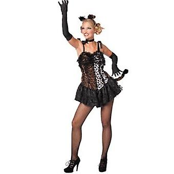 Sexy Leo Cats Costume for Women's Gr. 38 Carnival 5081955
