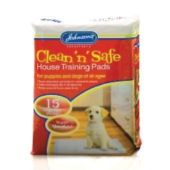 Johnsons Clean N Safe Puppy House Training Pads