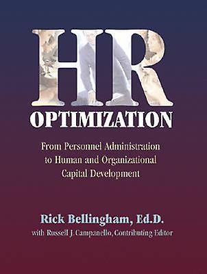 HR Optimization by Richard Bellingham - 9780874257625 Book
