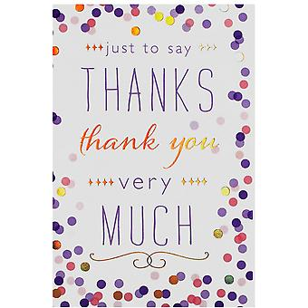 Simon Elvin Thank You Cards (Pack Of 24)