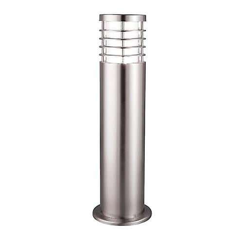 Searchlight 1556-450 Modern Outdoor Stainless Steel Exterior Pillar Lamp Post