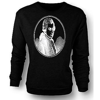 Womens Sweatshirt Wolfgang Amadeus Mozart