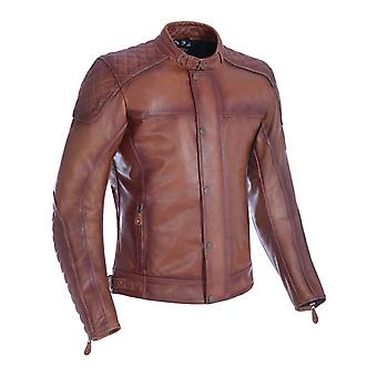 Oxford Bourbon Hampton Motorcycle Leather Jacket