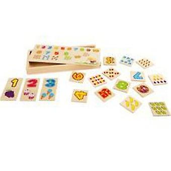 Legler Make a Pair  Numbers  (Babies and Children , Toys , Boardgames)