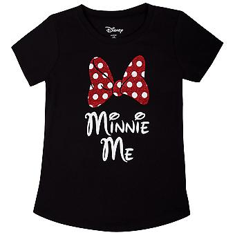 Minnie Mouse Minnie Me juventude preto t-Shirt