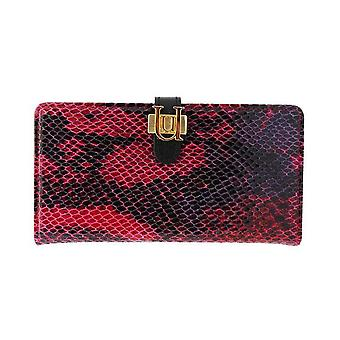 iPhone 6/6s - 4.7 Inch Luxe Exotic Slider Folio Wallet Snake Red