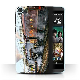 STUFF4 Case/Cover for HTC Desire 820s Dual/Sutherland/Red/Steam Locomotive