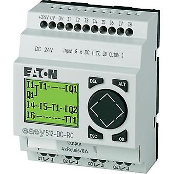 SPS controller Eaton EASY512-DC-RC 274109 24 Vdc