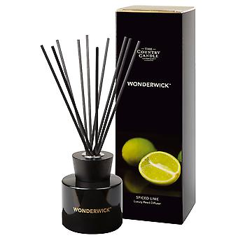 Wonderwick Noir Reed Diffuser - Spiced Lime