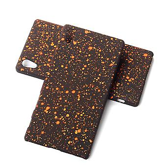 Cell phone cover case bumper shell for Sony Xperia Z5 3D star Orange