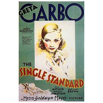 Enkelt Standard film plakat Print (27 x 40)