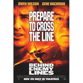 Hinter feindlichen Linien-Film-Plakat-Druck (27 x 40)