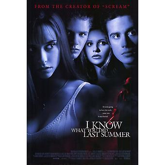 I Know What You Did Last Summer Movie Poster Print (27 x 40)