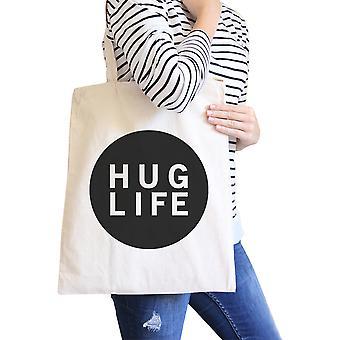 Abrazo de vida Natural bolsa Simple moda diseño gráfico bolsillo
