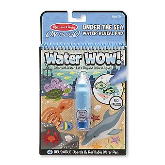 Melissa & Doug Water Wow! Themed Reuseable Paintiing Book 3+