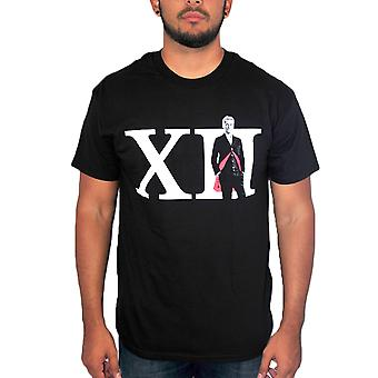 Doctor Who XII Theme Men's Black T-shirt