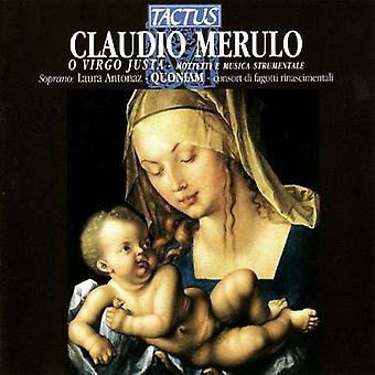 Merulo / Quoniam / Tognon / Antonaz - importación O Virgo USA Justa [CD]
