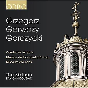 Gorczycki / 16 - Grzegorz Gerwazy Gorczycki [CD] USA import