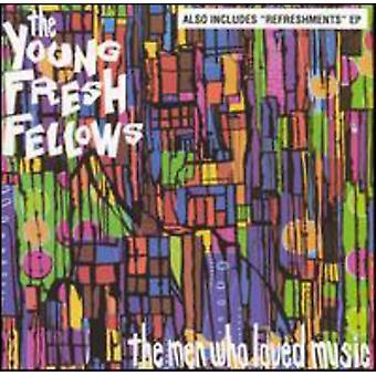 Unge friske fyre - mænd der elskede musik [CD] USA importerer