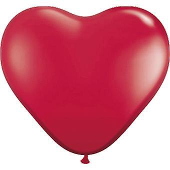 Globos corazón 8St. globos de corazón rojo boda decoración decoración de la boda