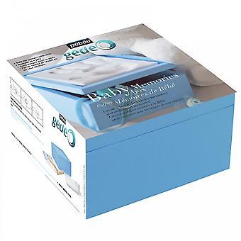 Gedeo Baby erindringer kasse blå