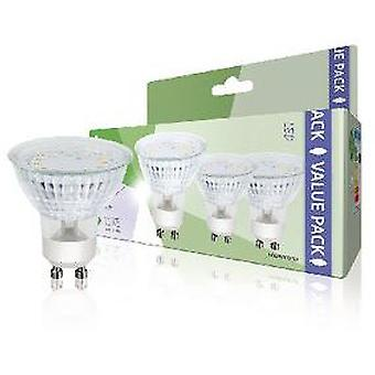 HQ Pack of 3 led bulbs gu10 mr16, 3 w, 230 lm, 3000 k (Verlichting , Spaarlampen)