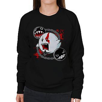 Ghost af Sparta Gud for krig Mario kvinders Sweatshirt