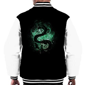 Spirited Away Haku Dragon Chihiro Men's Varsity Jacket