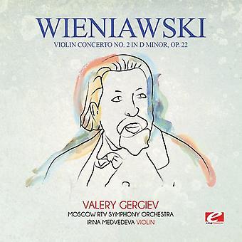 Wieniawski - Violin Concerto nr. 2 i D mindre Op. 22 [CD] USA import