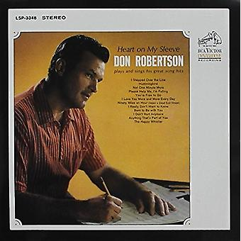 Don Robertson - Heart on My Sleeve [CD] USA import
