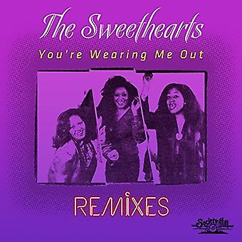 Sweethearts - You're Wearing Me Out - Remixes [CD] USA import
