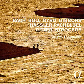 Gustav Leonhardt - cembalomusik af Bach Bull Byrd Gibbons Hassler Pachelbel Ritter Strogers [CD] USA import