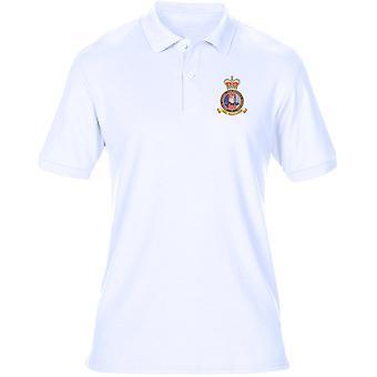 Centre Defense Medicine Embroidered Logo - Official Royal Air Force Mens Polo Shirt