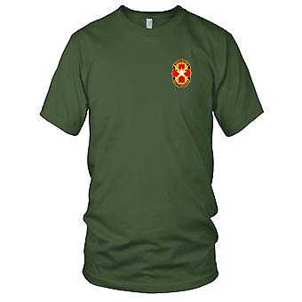 US Army - Brooks Medical Center broderad Patch - Mens T Shirt