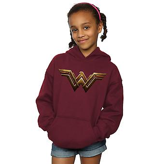 DC Comics flickor Justice League filmen Wonder Woman Emblem Hoodie