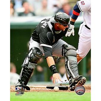 AJ Pierzynski 2009 Action Photo Print
