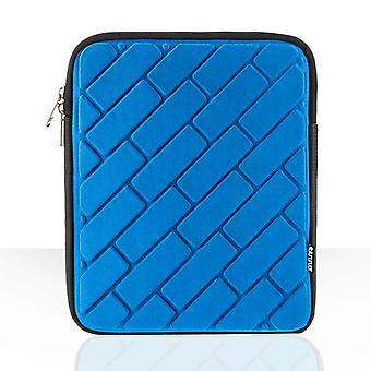Caseflex baksteen patroon Ipad Pouch - blauw