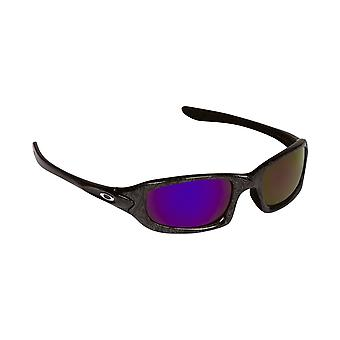 Best SEEK Polarized Replacement Lenses for Oakley FIVES 4.0 Black Purple Mirror